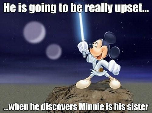 disney star wars mickey mouse luke skywalker - 7922019328