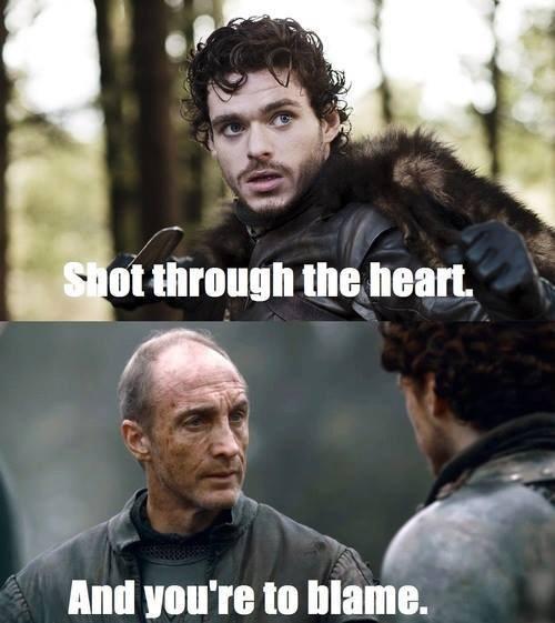 roose bolton Game of Thrones Robb Stark red wedding bon jovi - 7922052096