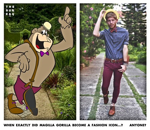fashion,Magilla Gorilla,cartoons