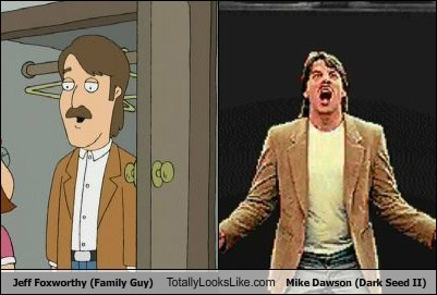 Jeff Foxworthy (Family Guy) Totally Looks Like Mike Dawson (Dark Seed II)