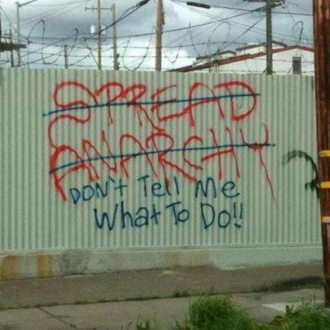 anarchy graffiti - 7923164928