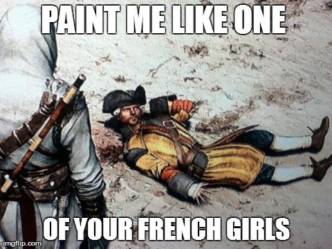 assassins creed,draw me like one of your french girls