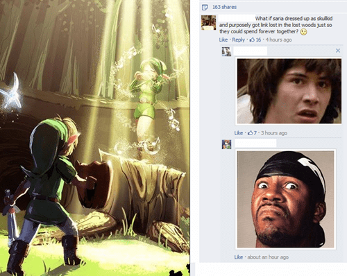 legend of zelda overly attached girlfriend conspiracy keanu - 7923402240