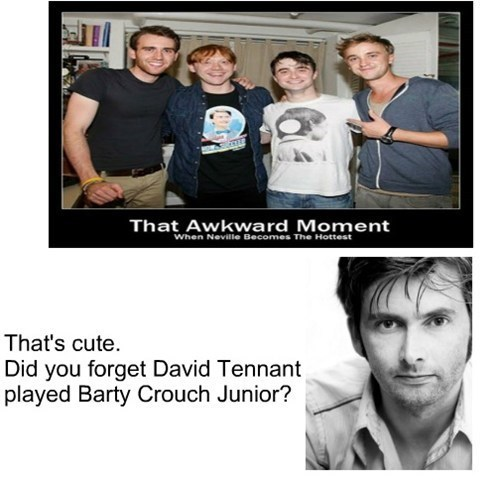 Harry Potter David Tennant 10th doctor doctor who celeb - 7923727104