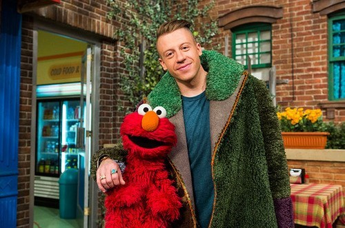 fashion Sesame Street Macklemore
