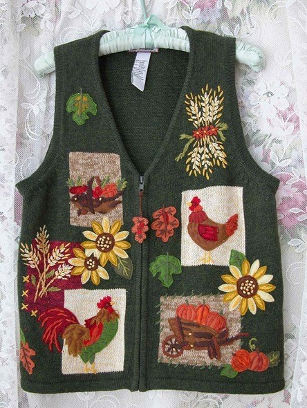 fashion thanksgiving vest - 7924006912