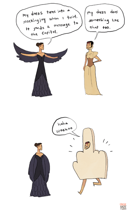 fashion hunger games web comics Fan Art poorly dressed - 7924166400