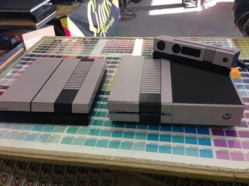 old school retro PlayStation 4 nintendo xbox one - 7924287744