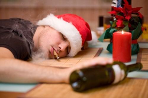drug stuff funny wine santa wtf - 7924429056