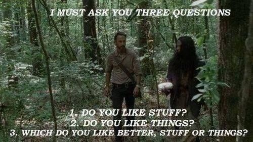 Rick Grimes stuff and things three questions - 7924445184