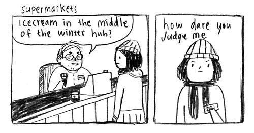 funny ice cream judgements web comics - 7924494080