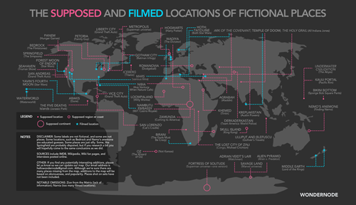 fictional characters movies places Maps - 7924521472