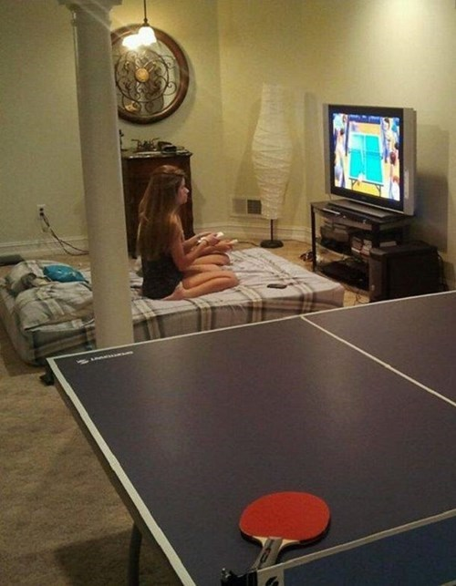 irony funny video games ping pong g rated fail nation