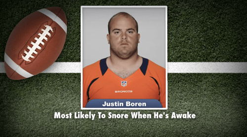Most Likely To,jimmy fallon,kansas city chiefs,nfl,senior superlatives,Denver Broncos,football