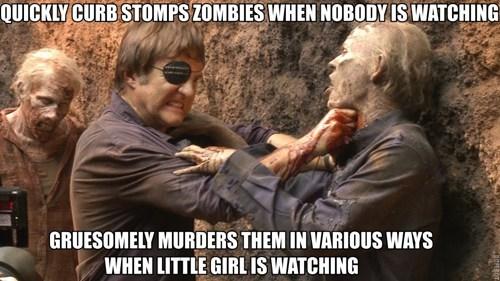 zombie kills the governor - 7924772608