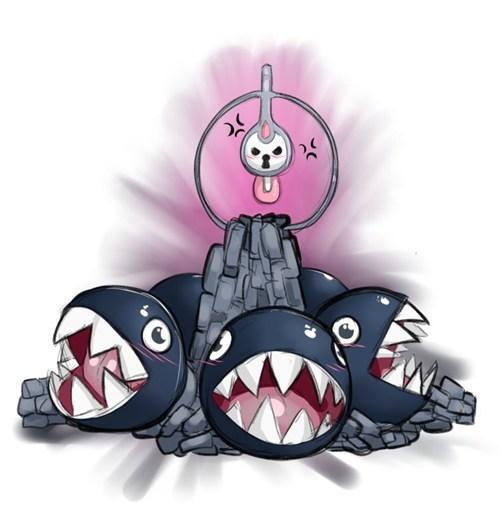 chain chomp Fan Art funny klefki - 7924839680