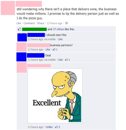 mr burns,wine,wine delivery service