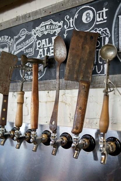 funny rusty tetanus beer taps - 7925712128