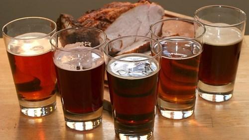 beer funny Turkey thanksgiving - 7925739776