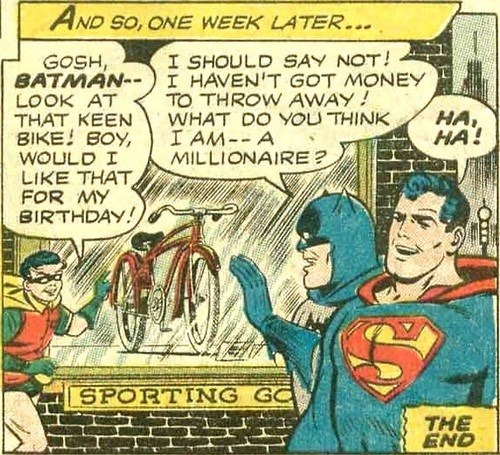 batman,robin,millionaire,off the page,black friday