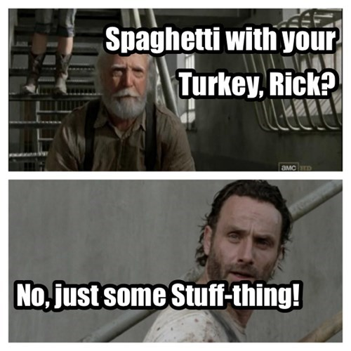 hershel greene,Rick Grimes,stuff and things,spaghetti tuesday
