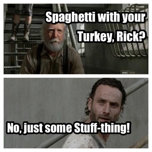 hershel greene Rick Grimes stuff and things spaghetti tuesday - 7925805568