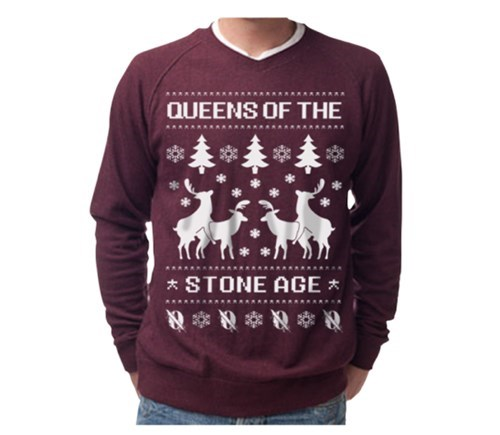 christmas,christmas sweater,ugly sweater,queens of the stone age,uproxx