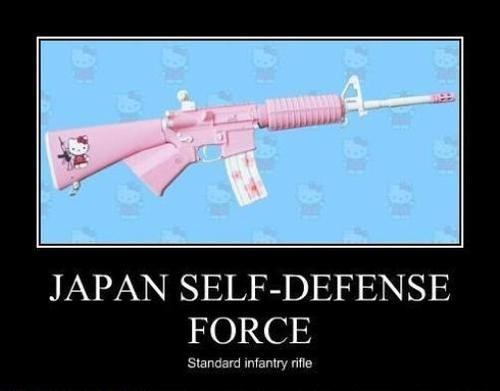 guns,Japan,funny,hello kitty,wtf