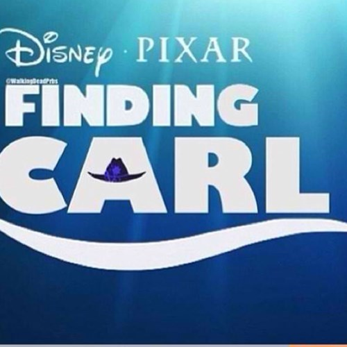 carl grimes lost finding nemo mashup - 7925842432
