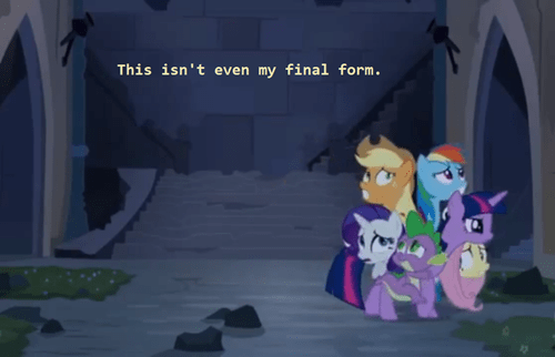 final form,mane 6,mlp season 4
