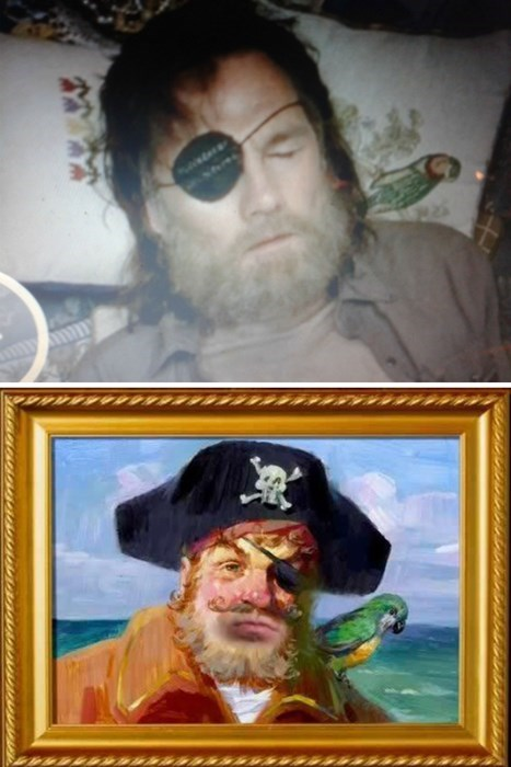 Pirate SpongeBob SquarePants the governor