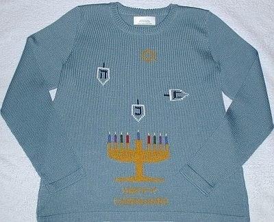 fashion ugly sweater hanukkah - 7925870592