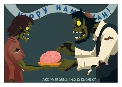 zombie hanukkah kosher - 7925877504