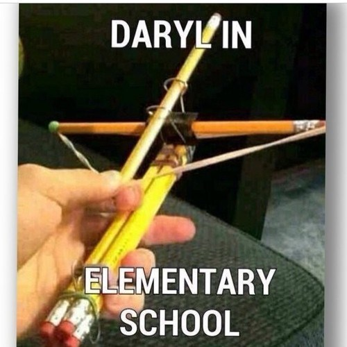 daryl dixon,DIY,crossbow,kids