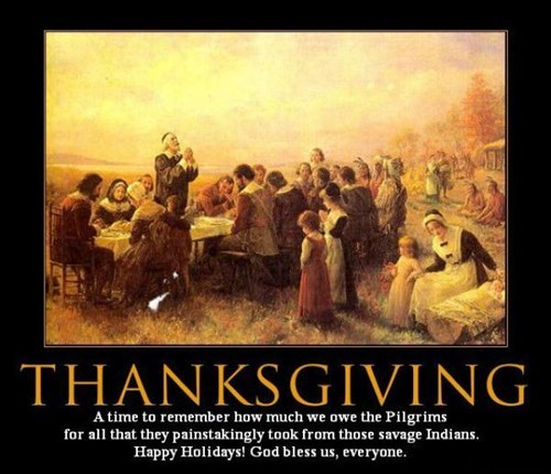 holidays funny indians pilgrims thanksgiving - 7925924352