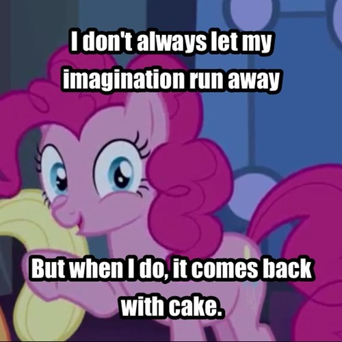 cake imagination pinkie pie - 7925961216