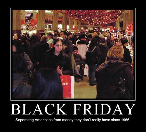 americans black friday debt funny shopping