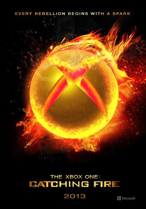 catching fire hunger games xbox one xbone - 7925989120