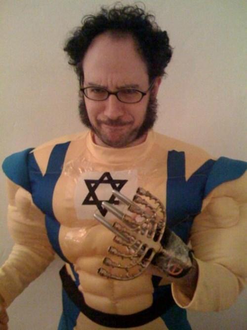 cosplay,superheroes,wolverine,hanukkah