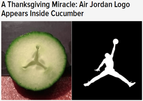 air jordans cucumber miracles funny michael jordan totally looks like thanksgiving - 7926080000