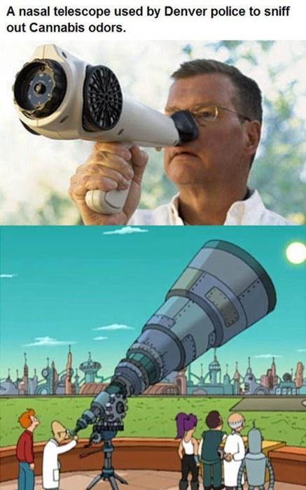 futurama funny Telescope smell wtf - 7926231552