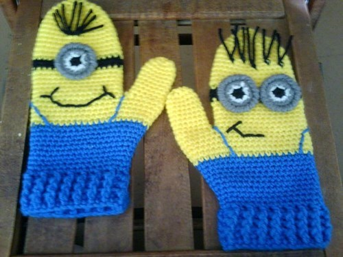 accessories for sale despicable me mittens - 7926236672