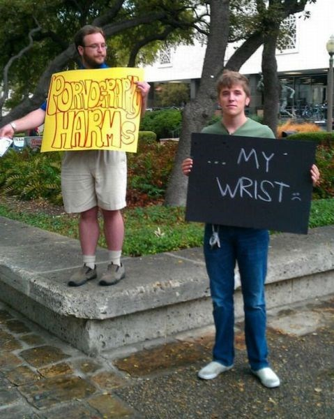 fap funny Protest sign - 7926340096