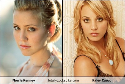 totally looks like,kaley cuoco,noelle kenney
