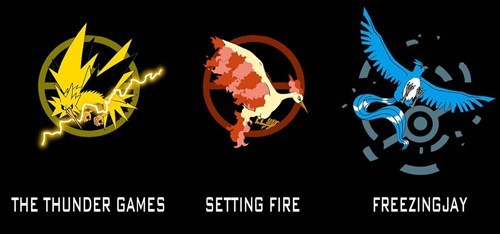 crossover,hunger games,Fan Art,Pokémon