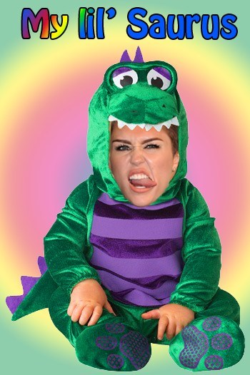 costume Music puns dinosaur miley cyrus - 7927006208