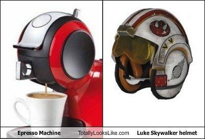 star wars,totally looks like,espresso,funny