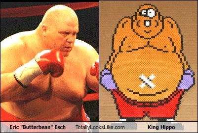 eric esch,Videogames,totally looks like,boxers,funny,king hippo