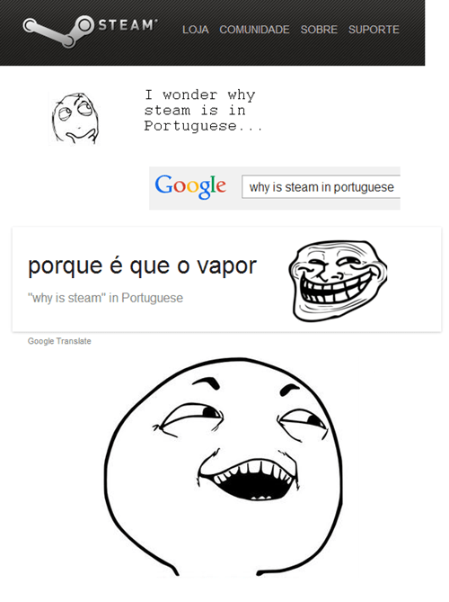 google I see what you did there trollface translation
