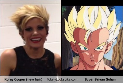 hair,super saiyan,gohan,Dragon Ball Z,totally looks like,korey cooper